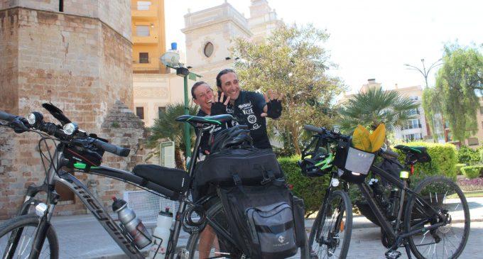 'Vent i Ales', el repte amb bicicleta per a una ONG d'Àfrica