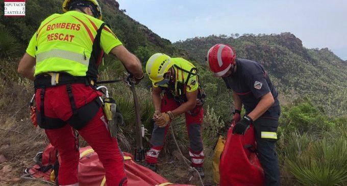Els bombers de la Diputació efectuen 42 rescats a la muntanya durant l'estiu, un 180% més que en 2019