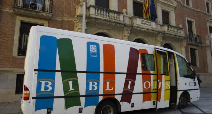 El Bibliobús de la Diputación retoma la actividad mañana lunes con un estricto protocolo anticovid