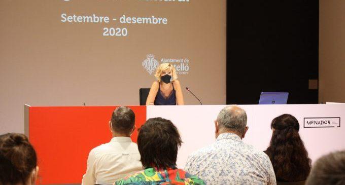 Cultura de Castelló aposta per professionals de proximitat en una programació amb més de 270 activitats