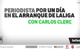 Carlos Clerc protagonista del Levante UD dels periodistes per un dia