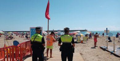 Tres platges de Benicarló tancades al bany per contaminació en les seues aigües