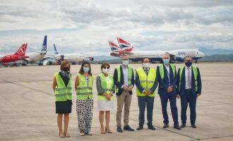 El aeropuerto activa la nueva línea de mantenimiento de aviones con un acuerdo para recibir 16 aeronaves