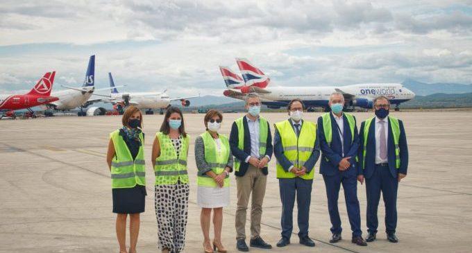 L'aeroport activa la nova línia de manteniment d'avions amb un acord per a rebre 16 aeronaus