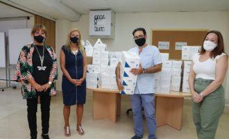 Castelló distribueix 15.000 mascaretes entre entitats socials per a població vulnerable