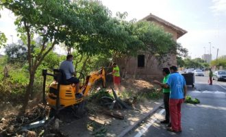 Benicàssim posa en valor l'entorn de l'antiga casella del guardabarreres de Frares