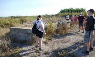 Represes les visites guiades de la línia XYZ d'Almenara