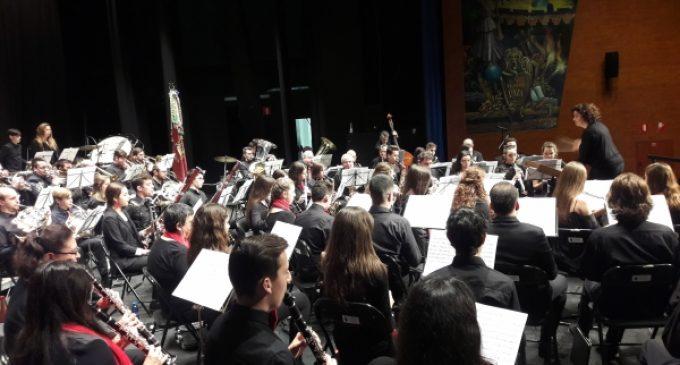 La Banda de Borriana torna la música als carrers de la ciutat