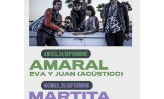 Sanitat autoritza un aforament de 800 persones per als concerts d'Amaral, Martita de Graná i Marlon a Borriana