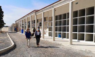 El cementeri de la Vall d'Uixó ja compta amb el protocol anti covid per al Dia de Tots Sants