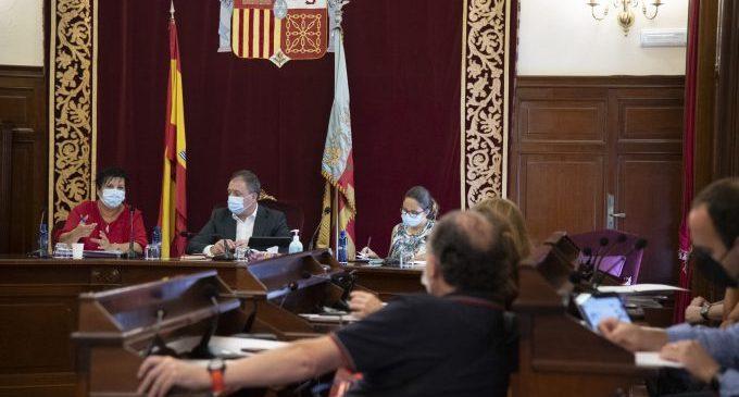 La Diputación de Castellón aprueba el Plan de Empleo que permite reubicar al personal del extinto centro de acogida del complejo de Penyeta Roja