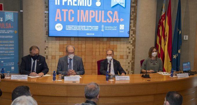 La Diputación de Castellón apuesta por la innovación en el campo cerámico con el copatrocinio de los premios 'ATC Innova'
