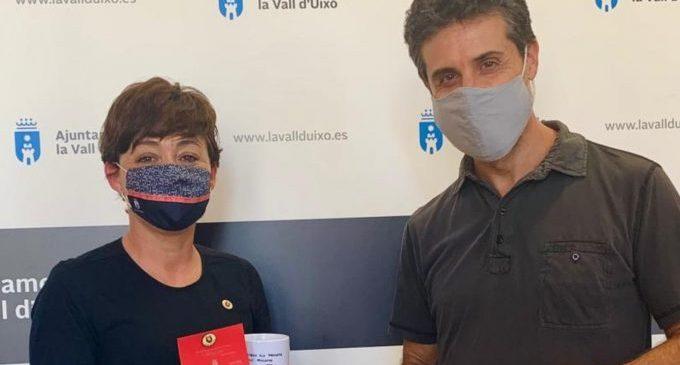El Ayuntamiento de la Vall d'Uixó firma un convenio con el Centro Delàs de Estudios por la Paz