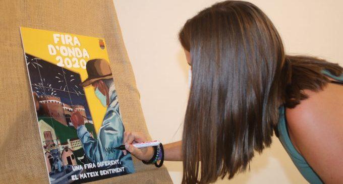 L'Ajuntament d'Onda presenta el cartell simbòlic de la Fira d'Onda 2020