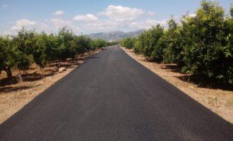 Nules mejora el asfaltado del Camí Llimero con más de 25.000 euros