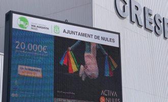 Nules adjudica la concesión de la explotación de las pantallas informativas en sus polígonos