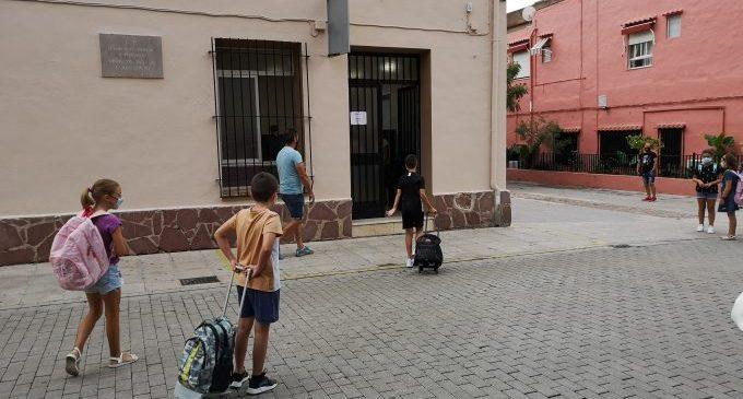 Els centres educatius de la Vall d'Uixó inicien el curs escolar 2020-2021 amb un protocol anti Covid-19