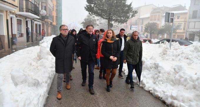 La Diputació de Castelló s'incorpora a Tragsa per a millorar la resposta contra les emergències