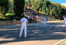 Onda dona a conéixer el projecte europeu d'ampliació de l'Avinguda Montanejos amb una partida de pilota valenciana