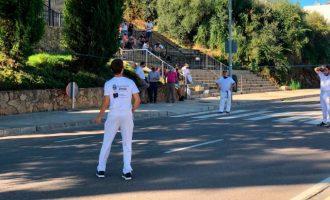 Onda da a conocer el proyecto europeo de ampliación de la Avenida Montanejos con una partida de pilota valenciana