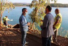 Onda inicia la construcció del pantalà en l'embassament del Sichar per a practicar esports aquàtics