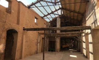 L'Alcora ultima las obras en la nave de los hornos de la Real Fábrica del Conde de Aranda