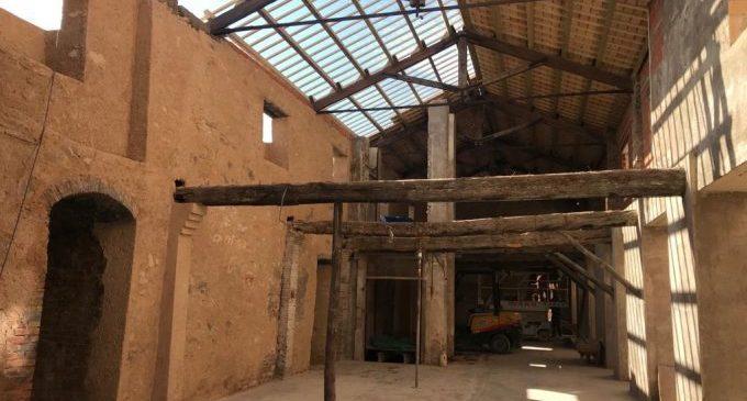 L'Alcora ultima les obres en la nau dels forns de la Reial Fàbrica del Comte d'Aranda