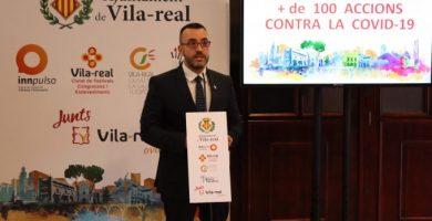 La inversió de Vila-real per la COVID-19 supera els 2 milions amb més de 100 accions en 10 plans