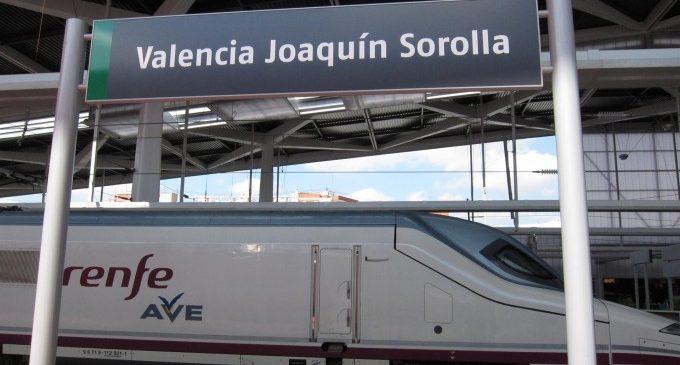 Castelló recupera rodalia amb València des de hui i l'AVE el dimecres