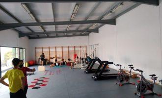 Almenara obri el gimnàs municipal després de les obres de remodelació i ampliació