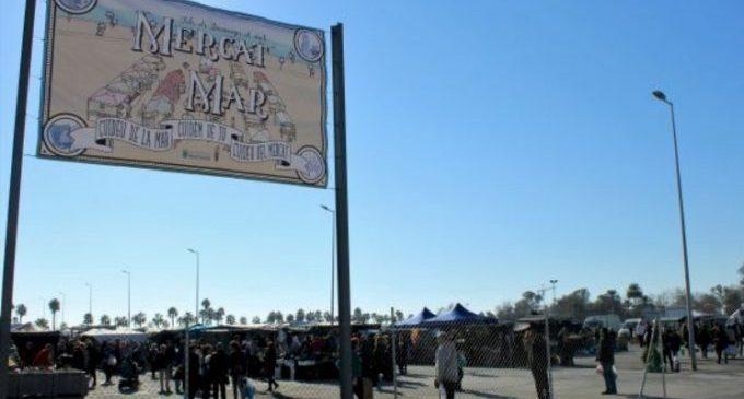 El Mercat de la Mar torna diumenge que ve, 4 d'octubre, amb alternança de parades al 50 per cent
