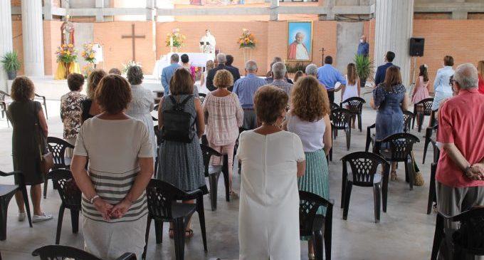 Benicàssim honra a Santo Tomás con una misa