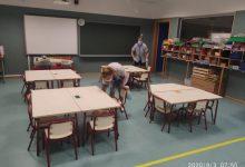 Vila-real reforça la neteja en els col·legis amb més personal i horaris per a garantir la seguretat per la COVID-19