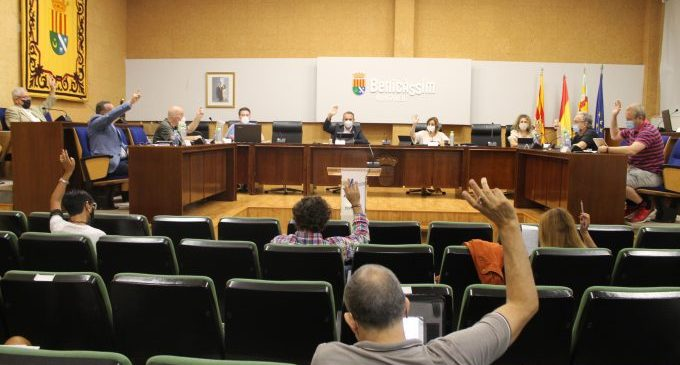 Benicàssim aprova iniciar els tràmits per a rebaixar el coeficient de l'IBI per al 2021