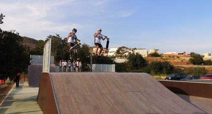 La Vall d'Uixó obri el nou skate park en l'arrancada de la Setmana de la Mobilitat