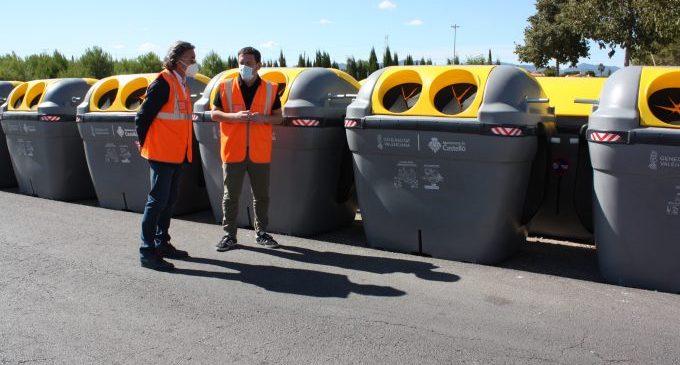 Castelló col·labora amb Ecoembes per a sumar 150 nous contenidors i incrementar el reciclatge