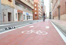 Castelló aconseguirà els 100 quilòmetres de carril bici amb els nous trams a Castell Vell i Pascual Asensio