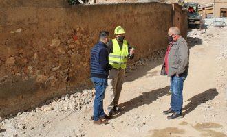 L'Alcora comença la renovació urbana del carrer Viver