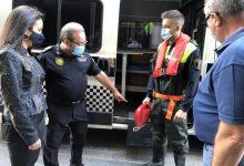 La Policia d'Almassora incorpora equips contra inundacions