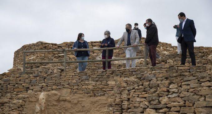La Diputació impulsa l'atractiu turístic de l'Alt Millars amb la posada en valor dels jaciments de Cortes i Zucaina