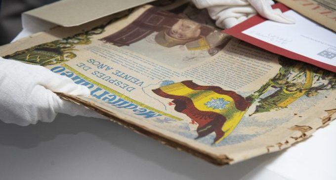 La Diputació conservarà en l'Arxiu Provincial quasi mig miler de documents cedits pel Grup Per la Recerca de Memòria Històrica de Castelló