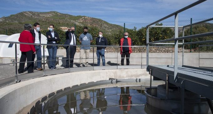 José Martí i Ignasi Garcia inauguren la nova depuradora d'Argelita que posa fi a 40 anys d'abocaments al riu Villahermosa