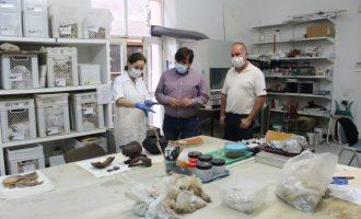 El Museu Arqueològic de Borriana restaura 12 noves peces