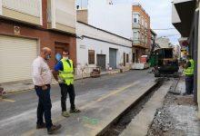El Ayuntamiento de la Vall d'Uixó inicia la segunda fase de las obras de remodelación de la calle Juan Capó