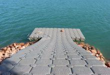 Onda instal·la el pantalà en l'embassament del Sitjar que permetrà la pràctica d'esports aquàtics