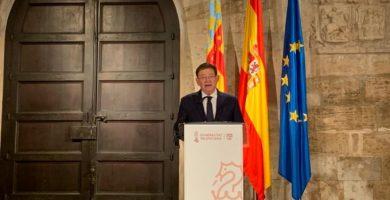 Puig tanca el perímetre de Castelló i el conjunt de la Comunitat a partir de demà