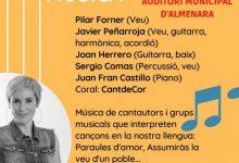 Almenara acollirà el concert 'La nostra llengua, la nostra música'