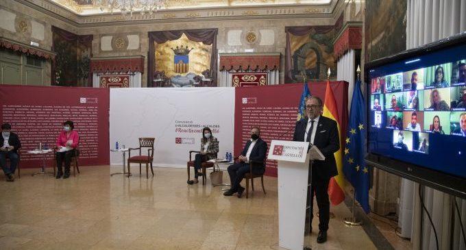 Martí destaca els 10 milions d'euros invertits a la Plana Alta i apel·la al treball conjunt en 2021 per a la reconstrucció