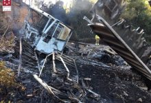 Controlat un incendi a l'Alcora per un camió que ha bolcat en el barranc