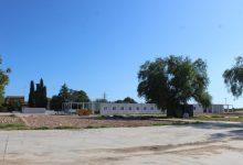 S'inicia a bon ritme la instal·lació dels barracons de l'aulari provisional de l'IES Jaume I a Borriana